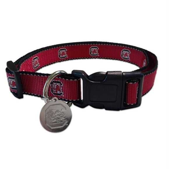 South Carolina Gamecocks Reflective Pet Collar