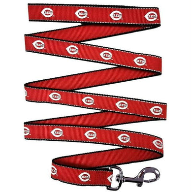 Cincinnati Reds Reflective Pet Leash