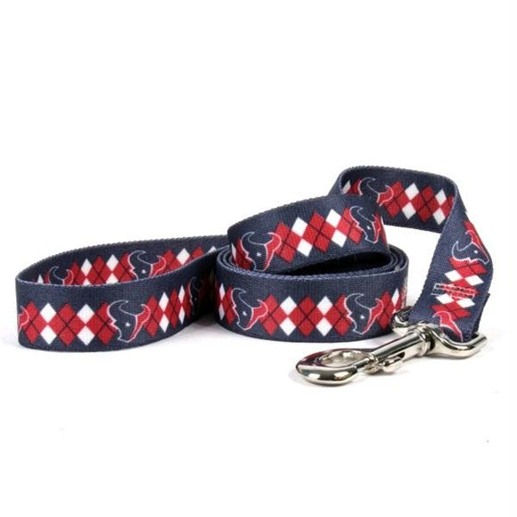 Houston Texans Argyle Nylon Leash