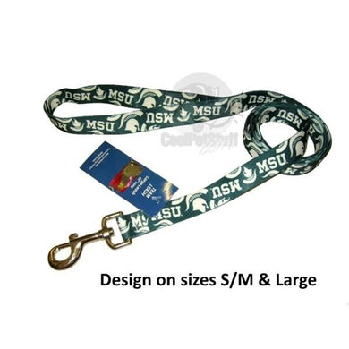Michigan State Spartans Nylon Leash