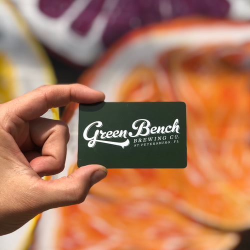 Green Bench Gift Card