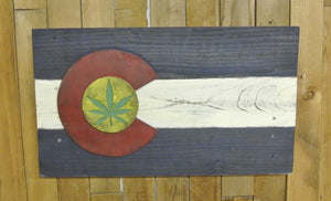 Colorado Weed Flag