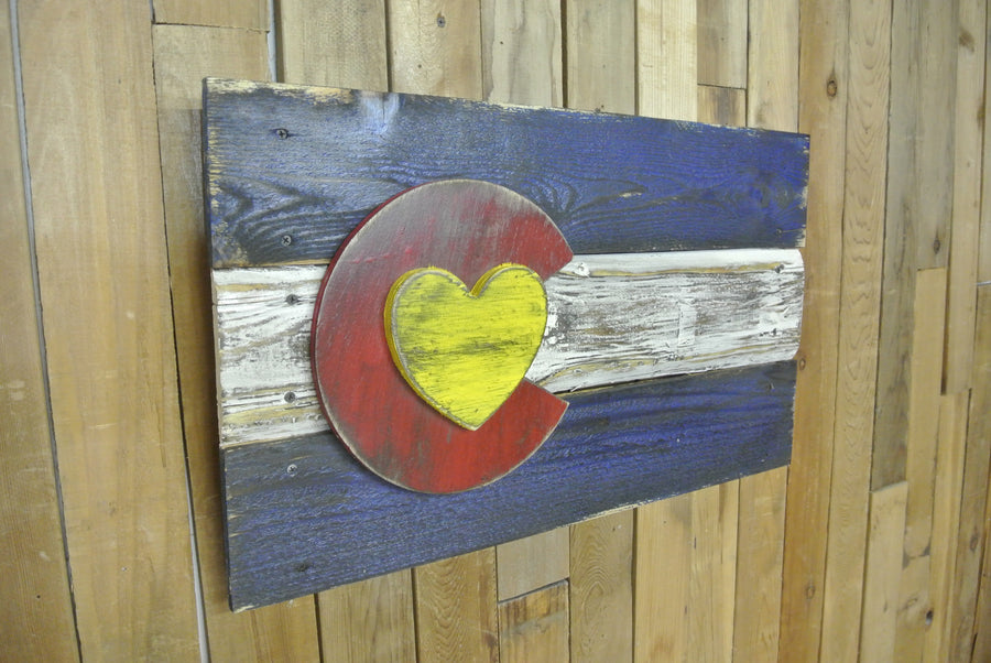 Colorado Love Flag