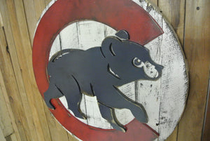 "Chicago Cubs ""Bear"" Logo"