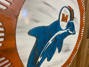 Miami Dolphins Logo / Old School 66 - 73
