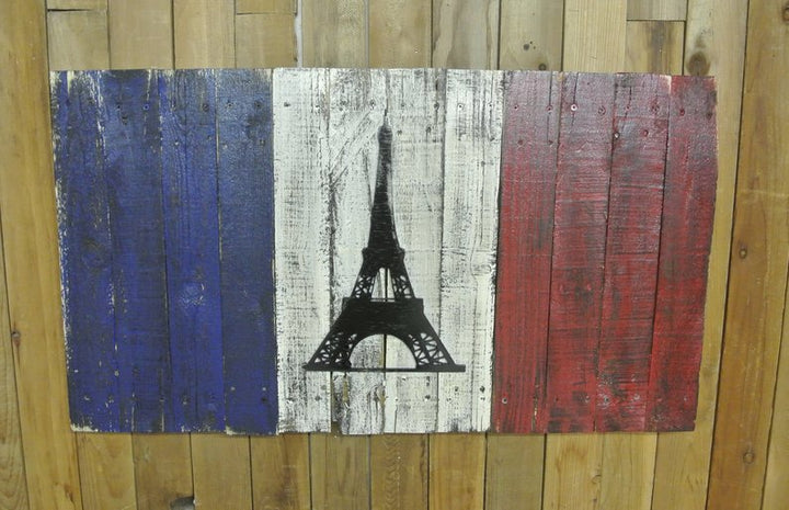 Distressed French Flag