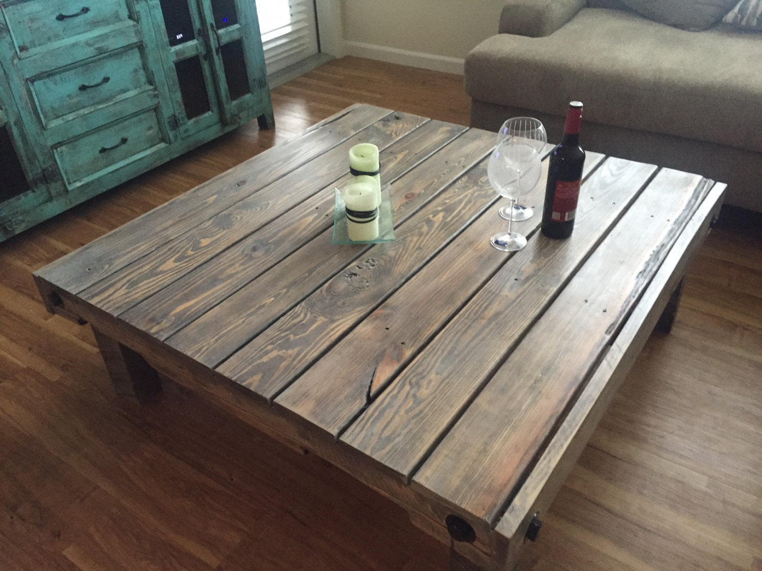 Reclaimed Pallet Wood Coffee Table Craig Moodie Designs