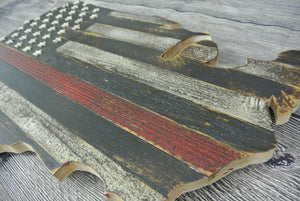 Thin Red Line US Cutout