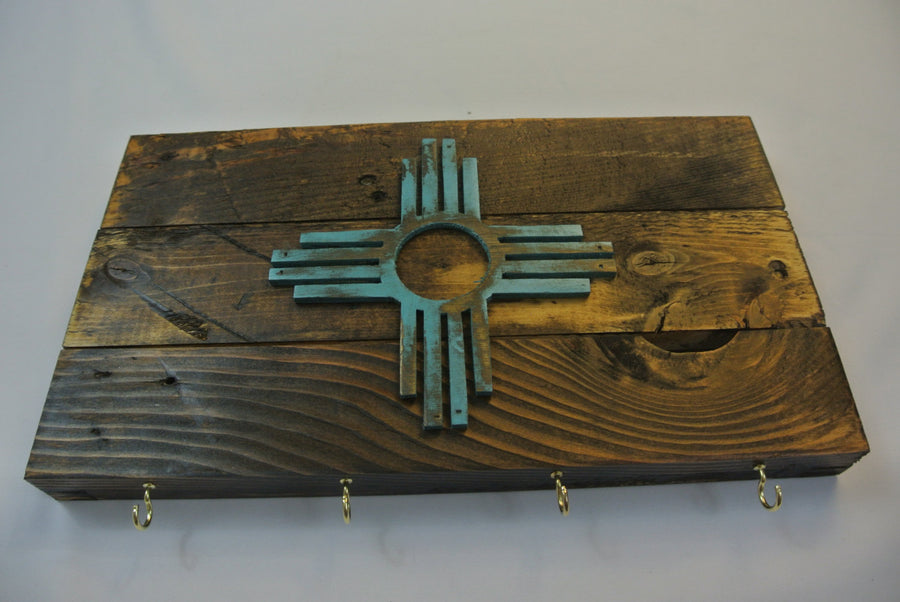 New Mexico Flag Key Rack