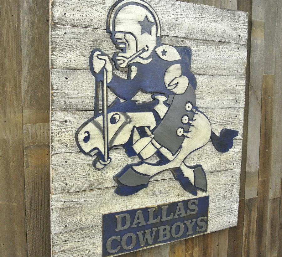 Old School Dallas Cowboys Logo