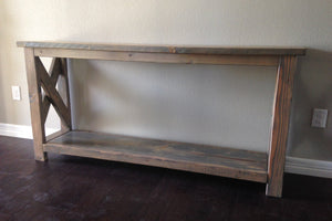 Custom Entry Way Table