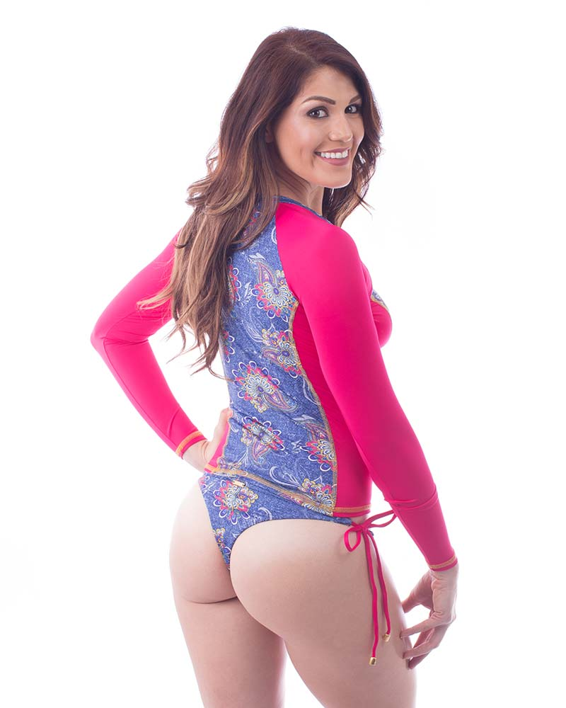 FUCHSIA ETNICO SURFER TOP MAR DALI T030C9