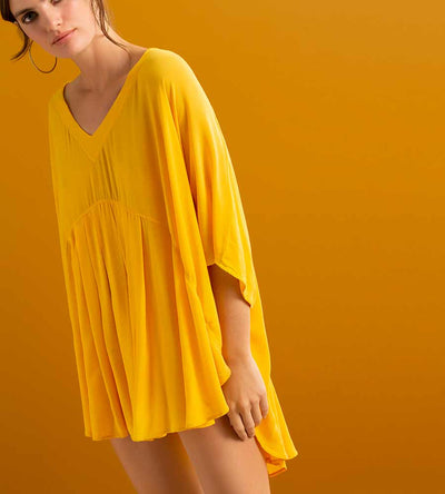 MARIGOLD SHORT COVER UP TOUCHE 0A07093