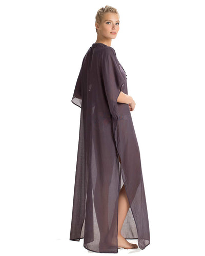 CARBON MAXI TUNIC TOUCHE 0A20081