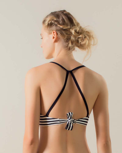 HONEYED BOW HALTER TOP TOUCHE 0B33082