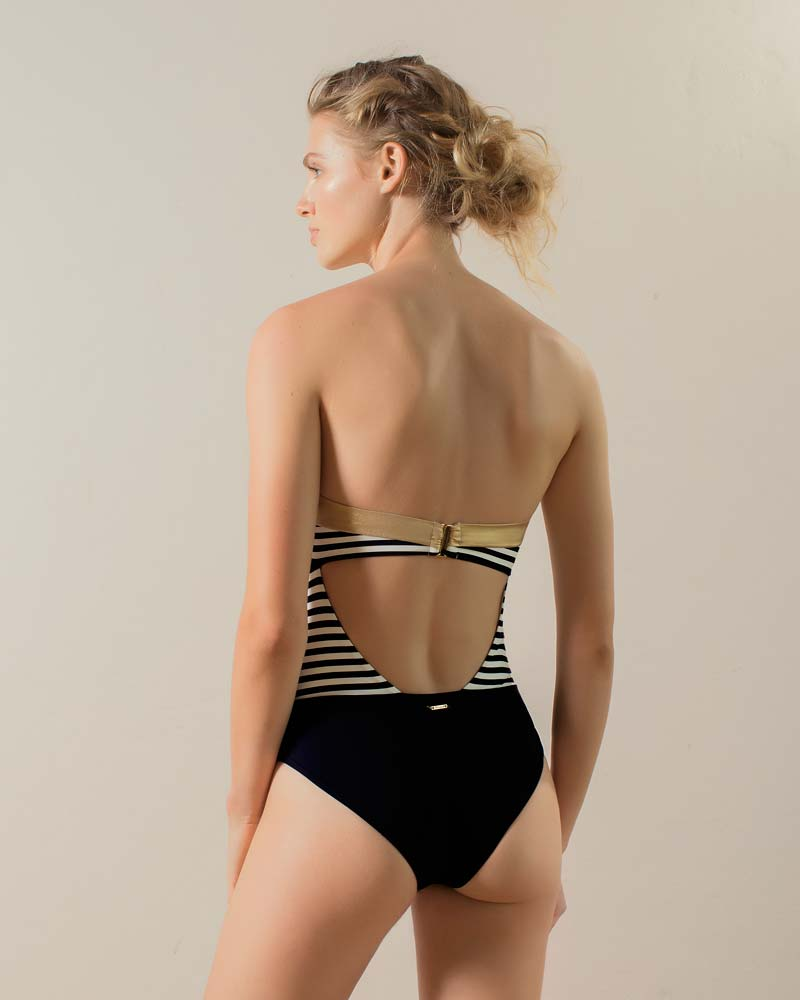 HONEYED BANDEAU ONE PIECE BY TOUCHE