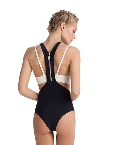 MYKONOS CUTOUT ONE PIECE TOUCHE 0E42081