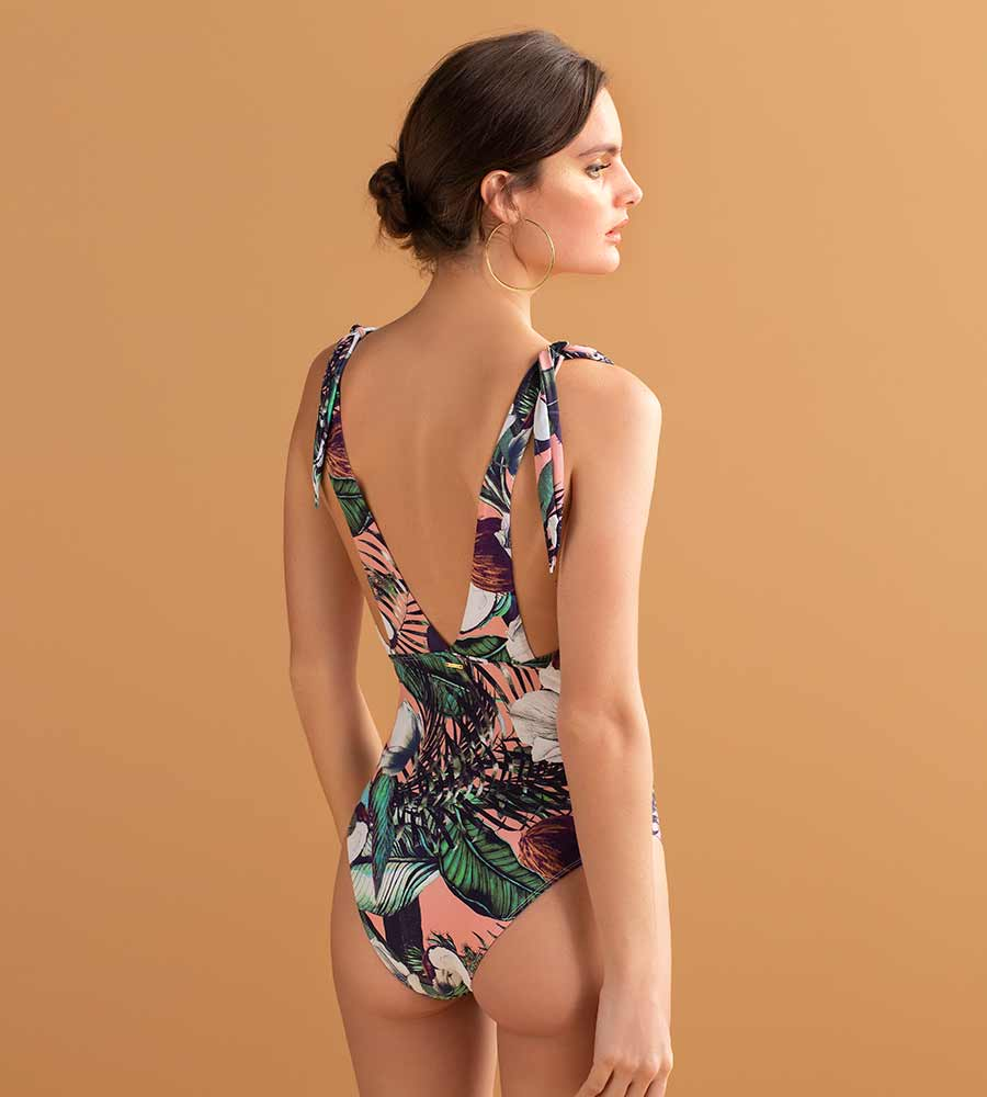 COCO LOCO HALTER ONE PIECE BY TOUCHE