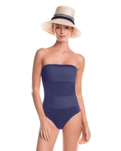 OCEANIC STRAPLESS ONE PIECE TOUCHE 0E81N83