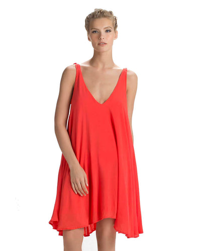 TANGERINE SHORT DRESS TOUCHE 0F12N81