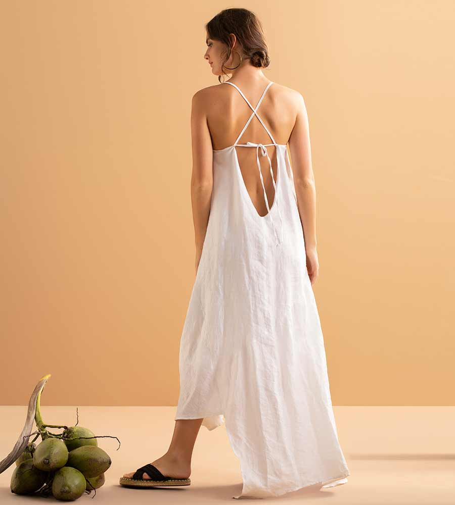 WHISPER WHITE LONG DRESS BY TOUCHE