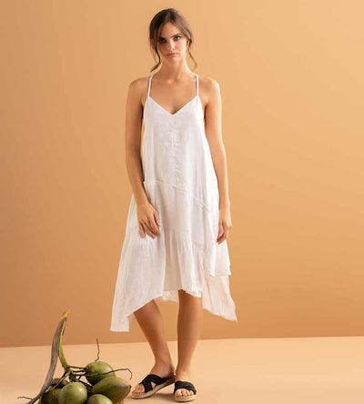 WHISPER WHITE SHORT DRESS TOUCHE 0F18093