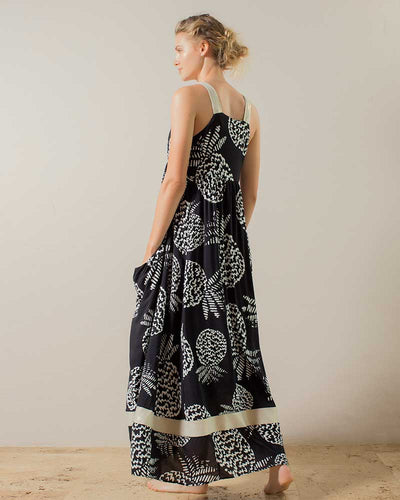 EBONY NIGHTS MAXI DRESS TOUCHE 0F32082