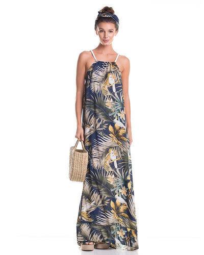 OCEANIC MAXI DRESS TOUCHE 0F75083