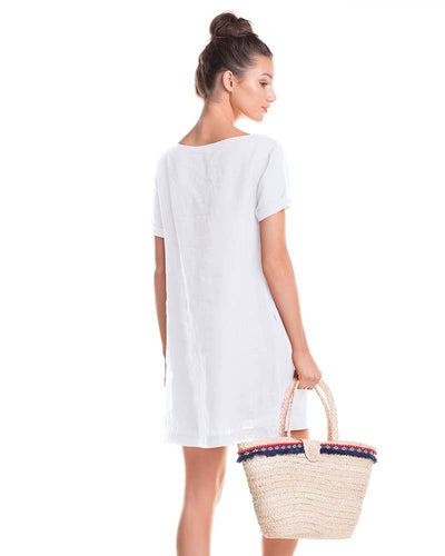 WHITE SANDS SHORT DRESS TOUCHE 0F81B83
