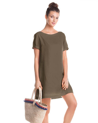 PALMAR SHORT DRESS TOUCHE 0F81V83