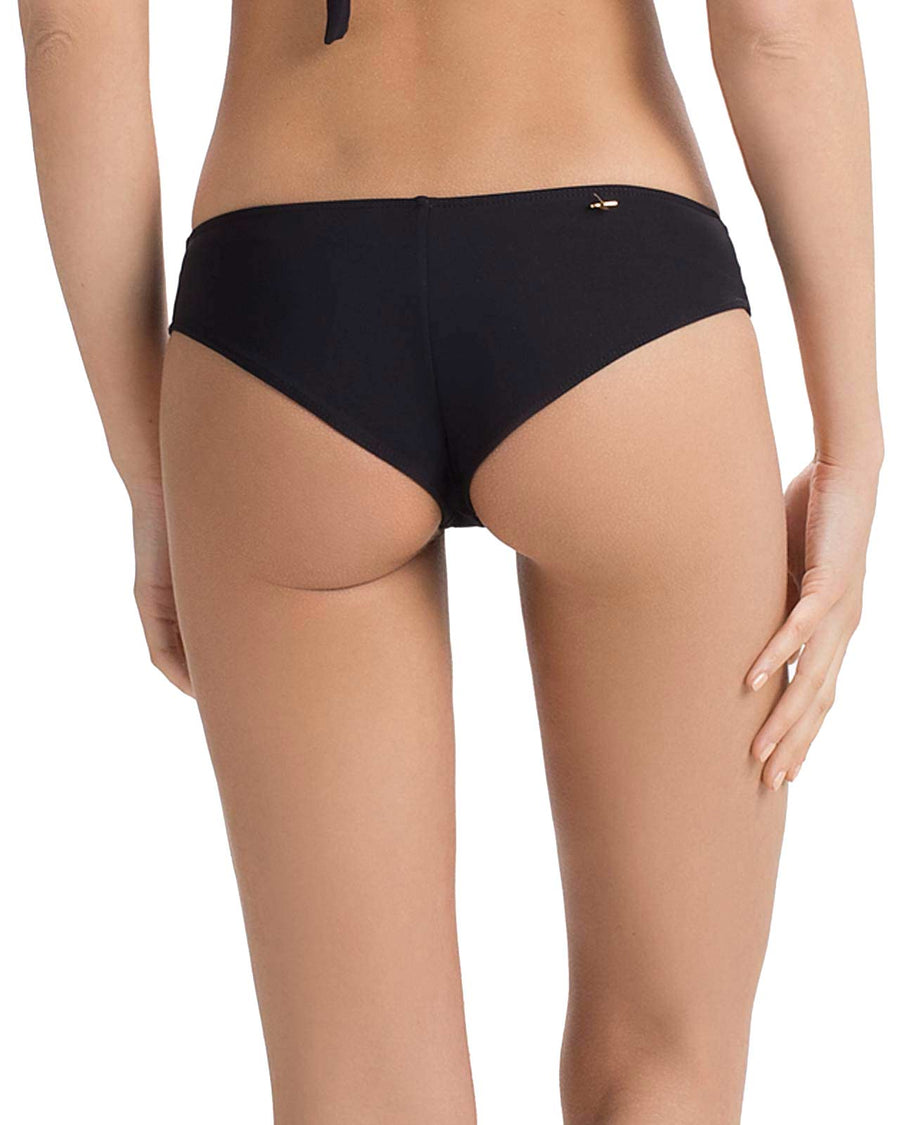 BLACK BASICO HIPSTER BIKINI BOTTOM BY TOUCHE