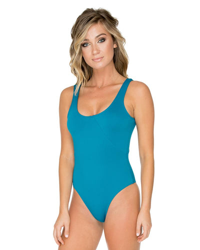 BLUE MALACHITE DUSK ONE PIECE AERIN ROSE 106BLMA