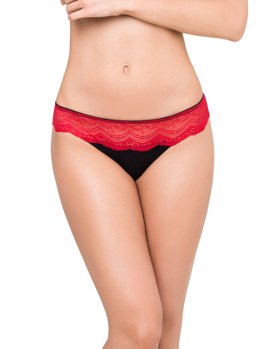 RED SEXY AND SWEET THONG KIBYS 10723.RED