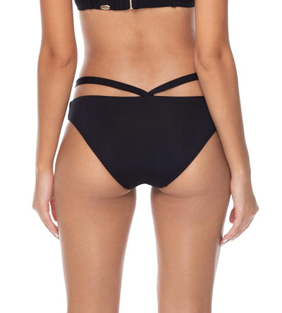 BLACK STELLA STRAPPY HIPSTER BOTTOM SUNSETS 17BBLCK