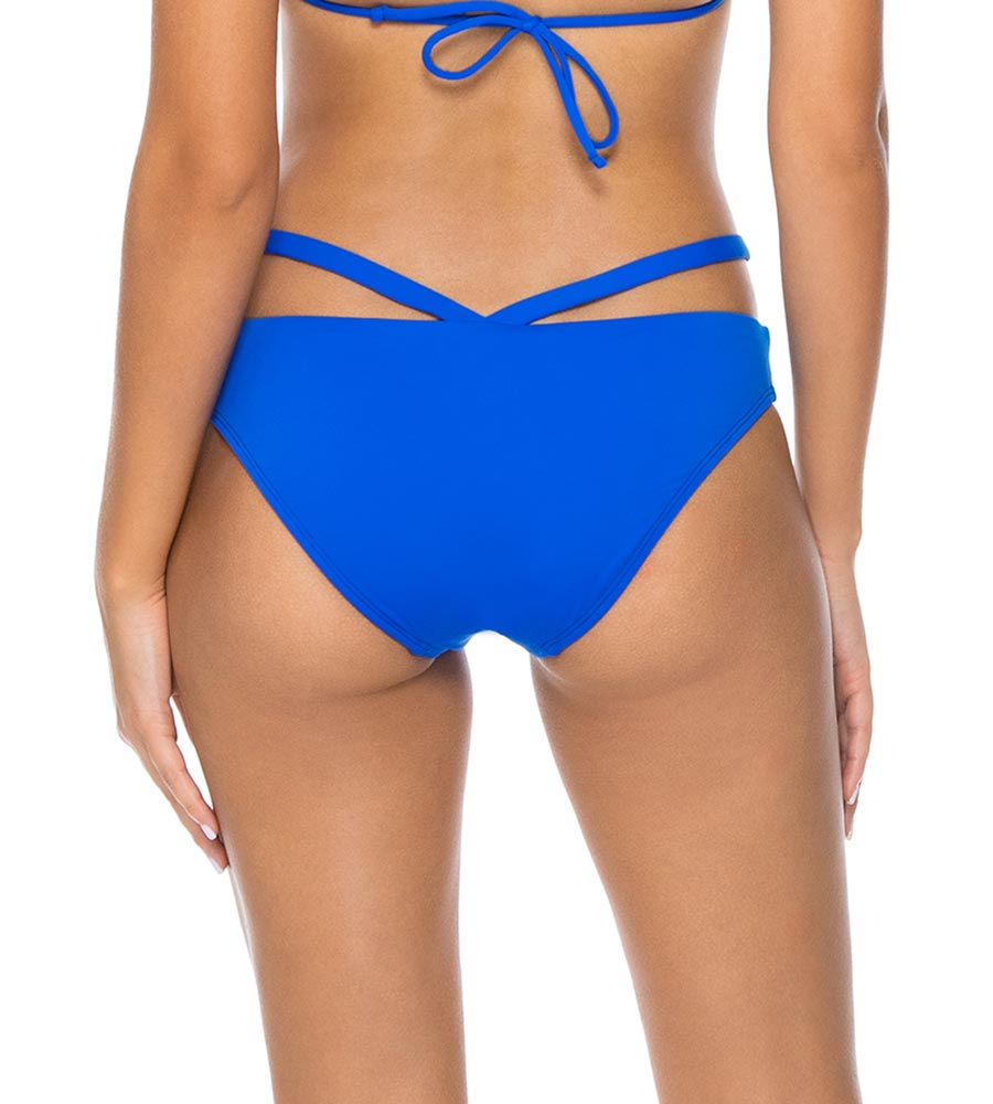 IMPERIAL BLUE STELLA STRAPPY HIPSTER BOTTOM BY SUNSETS