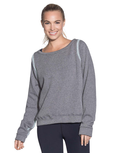 WATERWAY PEBBLE REVERSIBLE PULLOVER SWEATSHIRT MAAJI 1800ASA02