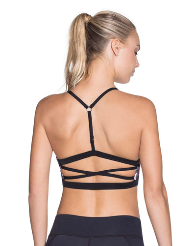CHARMED LEAF LOW IMPACT SPORTS BRA MAAJI 1829ASB01