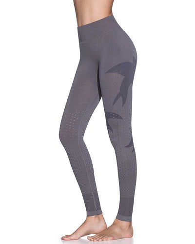PALOMA PEBBLE SEAMLESS MID RISE FULL LEGGING MAAJI 1839ALL03