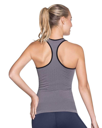ECLIPSE PEBBLE SEAMLESS TECH TANK TOP MAAJI 1851ATT02