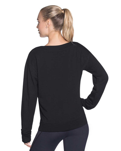 BACKTRACK BLACK PULLOVER SWEATSHIRT MAAJI 1852ASA01