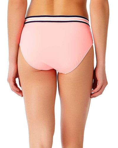 ELASTIC SOLIDS HOT TAMALE BOY BRIEF BIKINI BOTTOM ANNE COLE 18LB30401-COR
