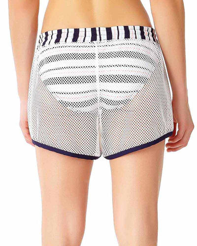 SNAP OUT OF IT MESH SHORTY COVER UP ANNE COLE 18LC50302-MULT