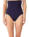 LIVE IN COLOR NEW NAVY CONTROL HIGH WAIST BOTTOM ANNE COLE 18MB36401-NAVY