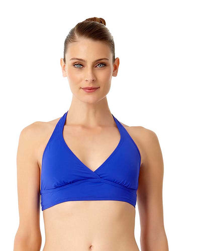 LIVE IN COLOR BLUEBERRY MUFFIN MARILYN HALTER TOP ANNE COLE 18MT10001-BLBE