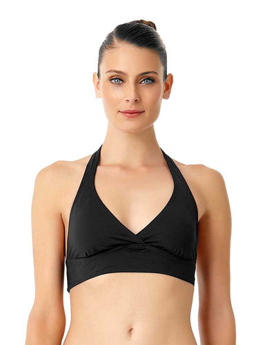 LIVE IN COLOR BLACK NOIRE MARILYN HALTER TOP ANNE COLE 18MT10001-BLK