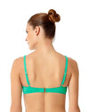 LIVE IN COLOR ACE OF JADES TWIST FRONT BIKINI TOP ANNE COLE 18MT10501-JAD
