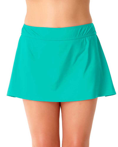 LIVE IN COLOR ACE OF JADES ROCK SWIM SKIRT ANNE COLE 18PB40001-JAD