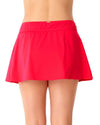 LIVE IN COLOR FIREBALL ROCK SWIM SKIRT ANNE COLE 18PB40001-RED