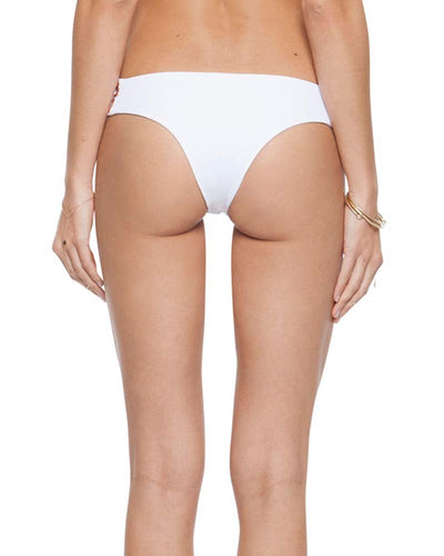 RITUAL EMBROIDERY WHITE JEANE CHEEKY BOTTOM TORI PRAVER 1R18SBJERE-WHT