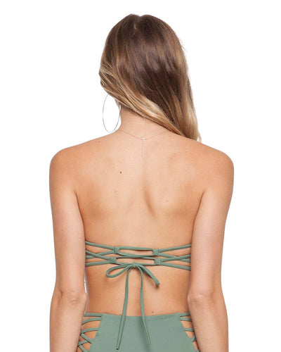 PALM MARGOT UNDERWIRE BANDEAU TOP TORI PRAVER 1R18STMRSO-PLM